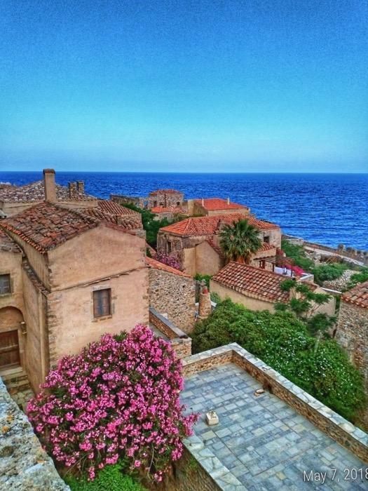Castelul Monemvasia Grecia 9