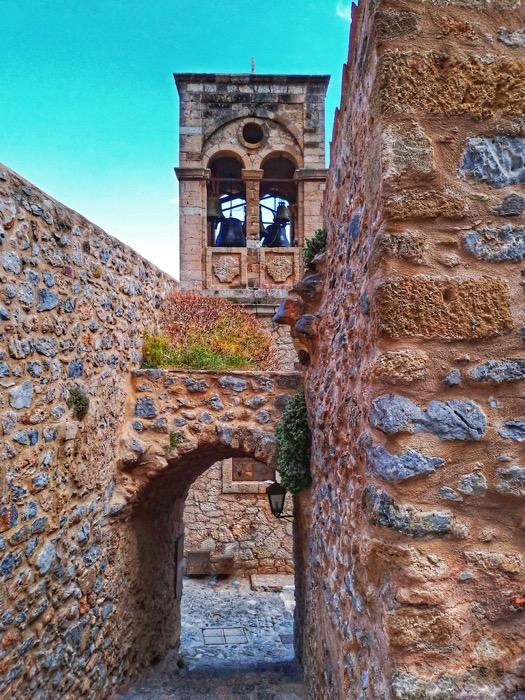 Castelul Monemvasia Grecia 26