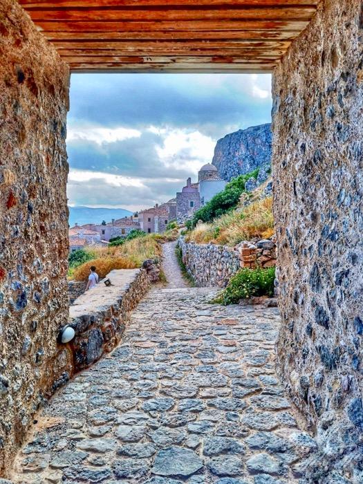Castelul Monemvasia Grecia 5