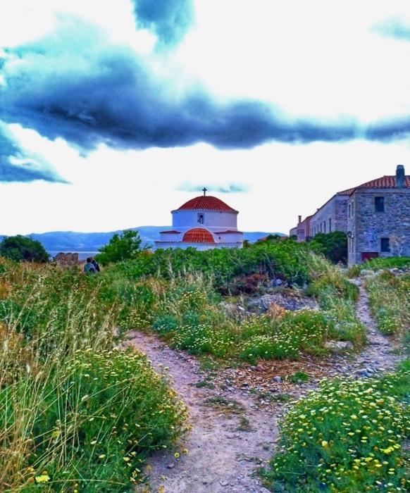 Castelul Monemvasia Grecia 4