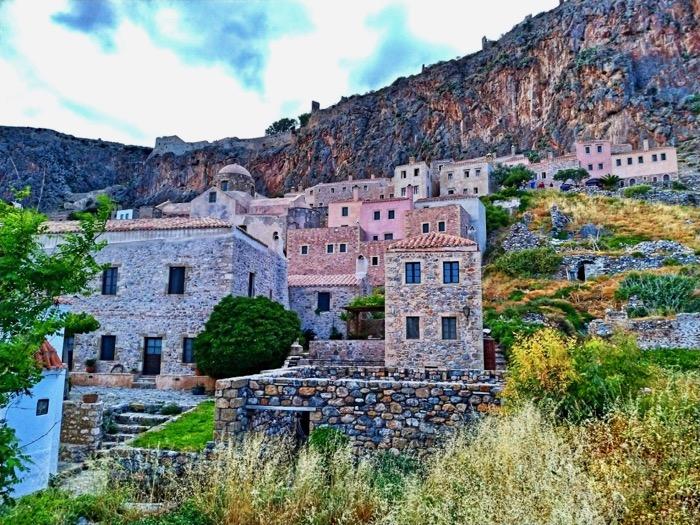 Castelul Monemvasia Grecia 3
