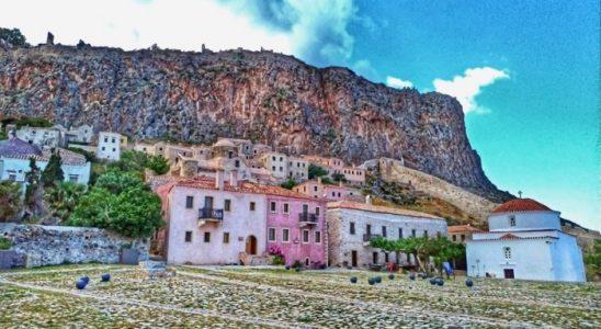 Castelul Monemvasia Grecia
