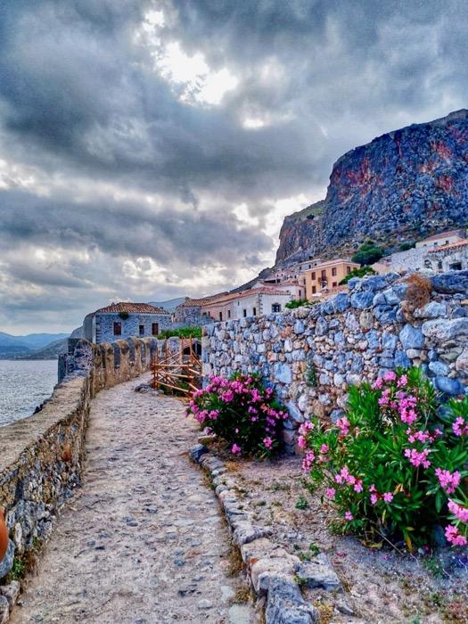 Castelul Monemvasia Grecia 1