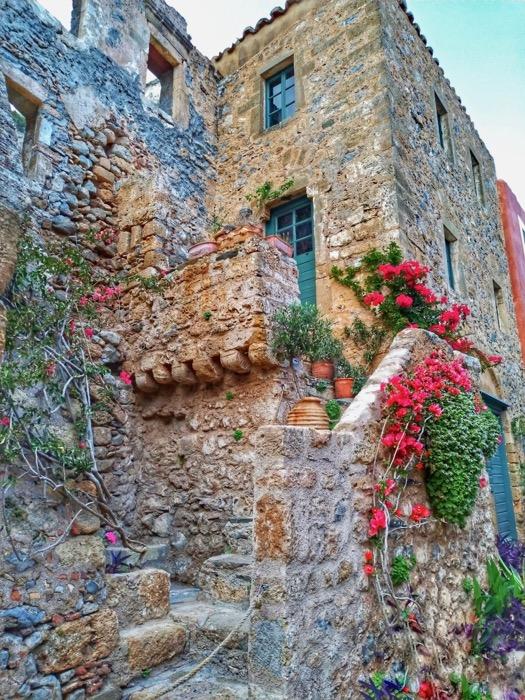 Castelul Monemvasia Grecia 25