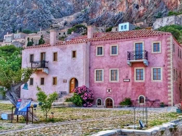Castelul Monemvasia Grecia 22