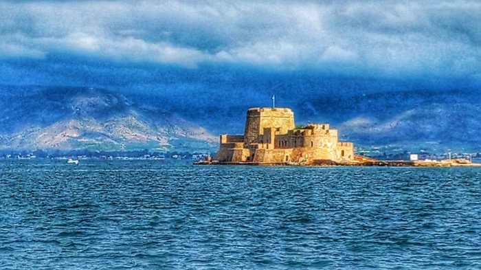 Nafplio Grecia Castelul Bourtzi