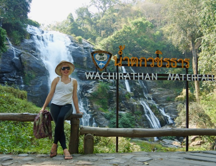 Parcul Național Doi Inthanon Chiang Mai cascada