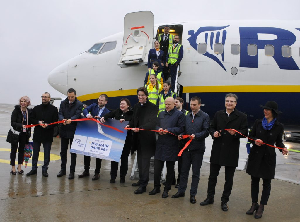 Burgas Bulgaria Baza Ryanair