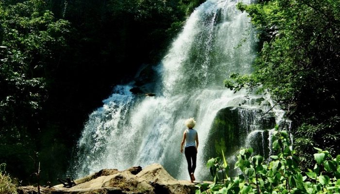 Pa Dok Siew Parcul Național Doi Inthanon Chiang Mai cascada 2