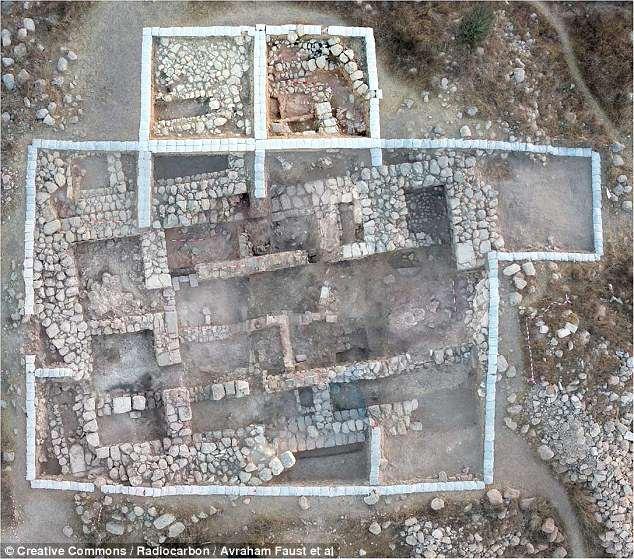 orasul biblic al Regelui David Tel Eton 1
