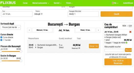 Bucuresti Burgas