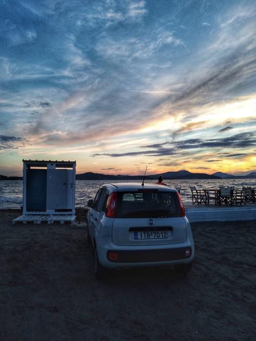 Condusul masinii insulele Grecia 6