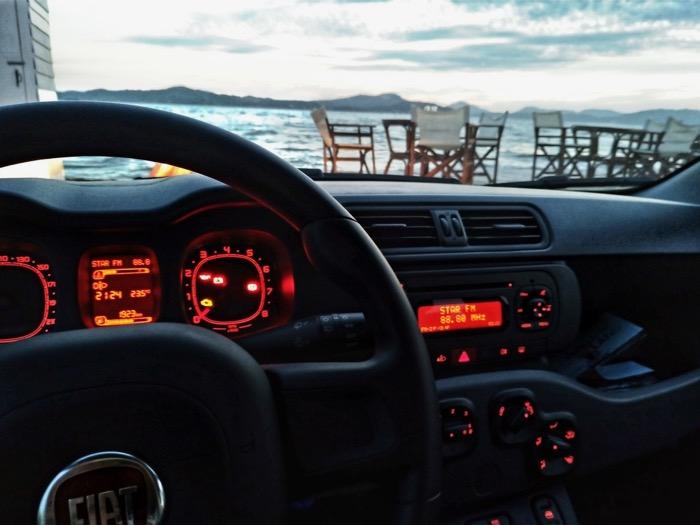 Condusul masinii insulele Grecia 5