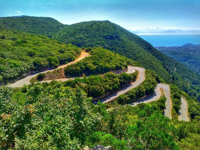 Condusul masinii insulele Grecia 2