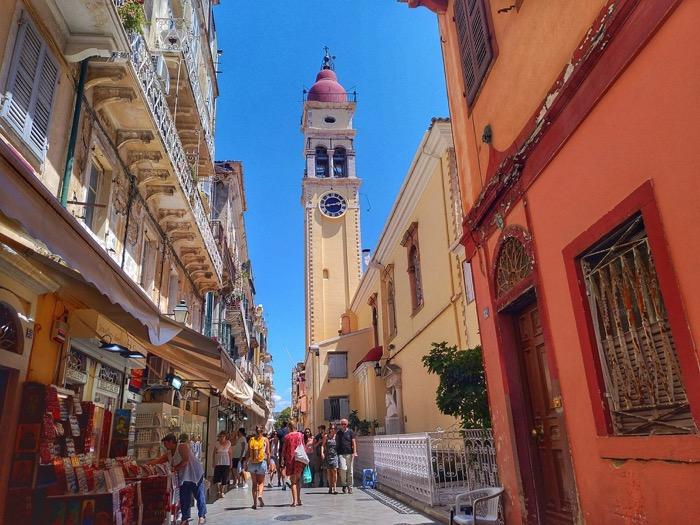 Corfu insula Sfântului Spiridon Biserica 1