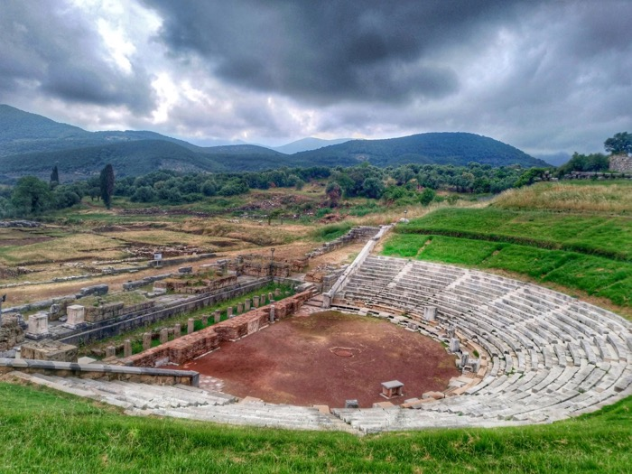 Messene TOP obiective Peloponez