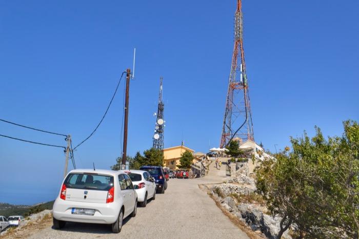 Parcare Pantokrator Corfu