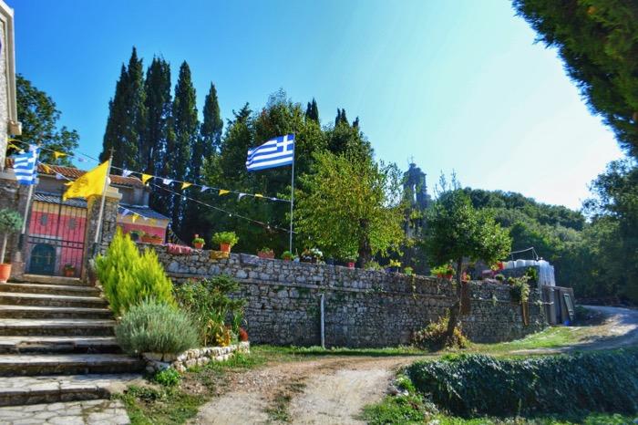 Satele Pataleia Strinillas Corfu manastire