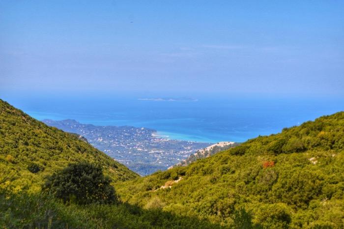 Drumul spre Pantokrator Corfu 3