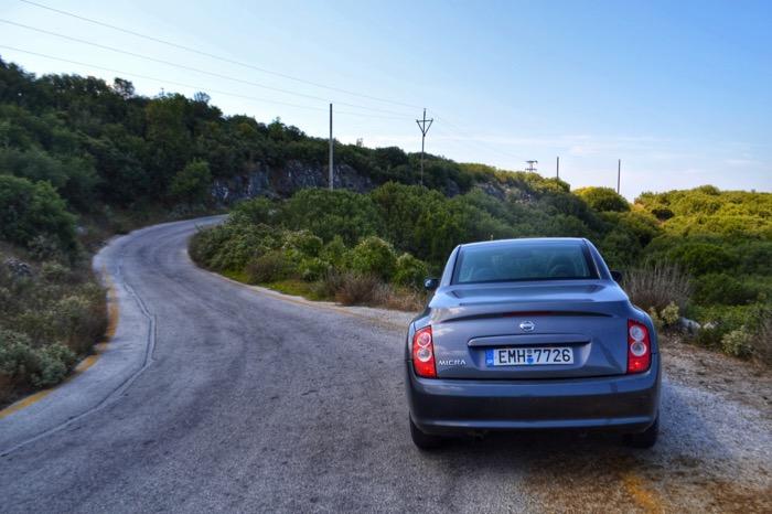 Drumul spre Pantokrator Corfu 1