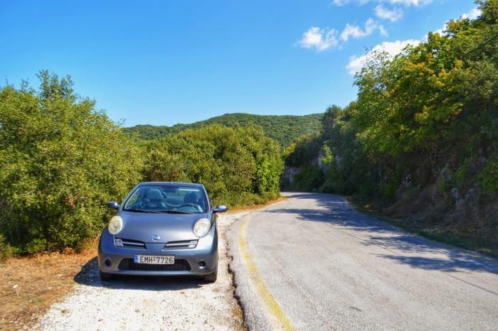 Drumul spre Pantokrator Corfu