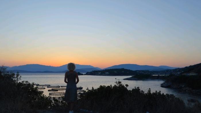 Asteptand rasaritul Corfu