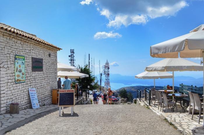 Muntele Pantokrator Corfu 3
