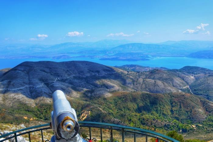 Muntele Pantokrator Corfu 2