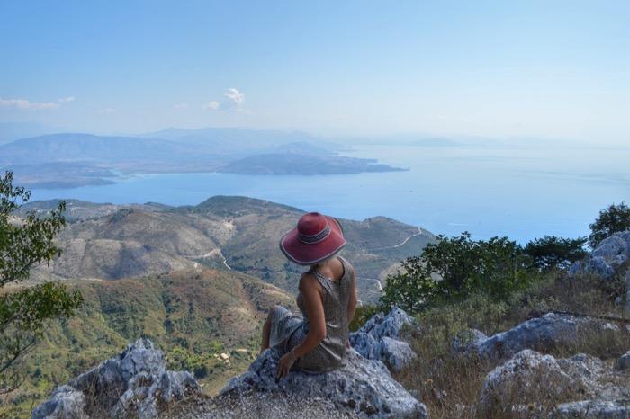 Muntele Pantokrator Corfu 1