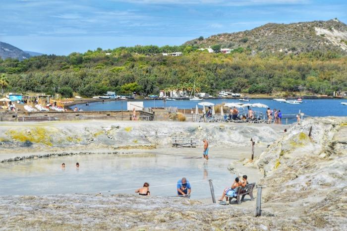 excursie Insulele Eoliene Vulcano namol 2