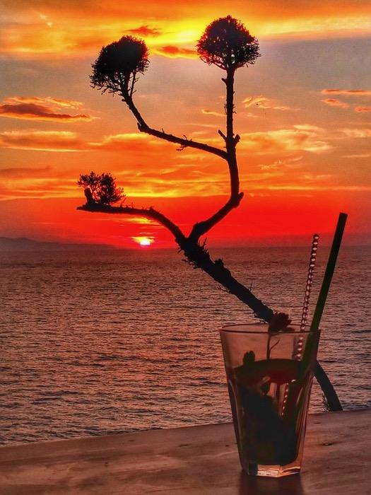 Plaja Loggas cel mai frumos apus din insula Corfu 2