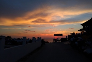 Plaja Loggas cel mai frumos apus din insula Corfu