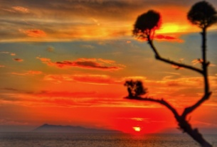 Plaja Loggas cel mai frumos apus din insula Corfu 7