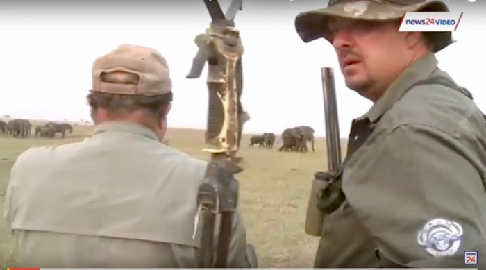 turma elefanti ataca vanatorii namibia 5