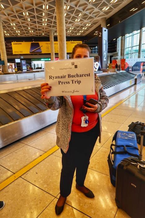 Zbor Ryanair Bucuresti Amman Iordania 1