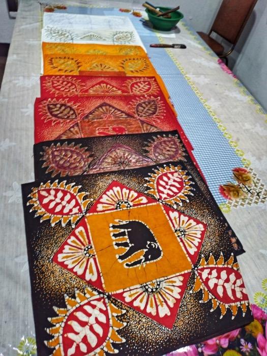 Dambulla Matale Kandy Sri Lanka batik 2