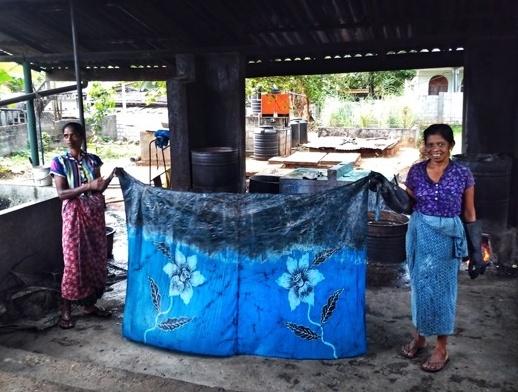 Dambulla Matale Kandy Sri Lanka batik 4