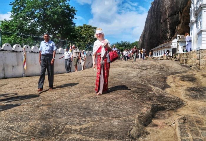 Templul Dambulla Sri Lanka