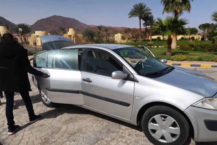 Transport Iordania Egipt: din Aqaba în Taba 12