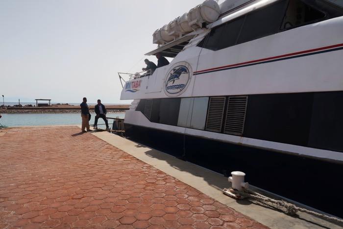 Transport Iordania Egipt: din Aqaba în Taba 9