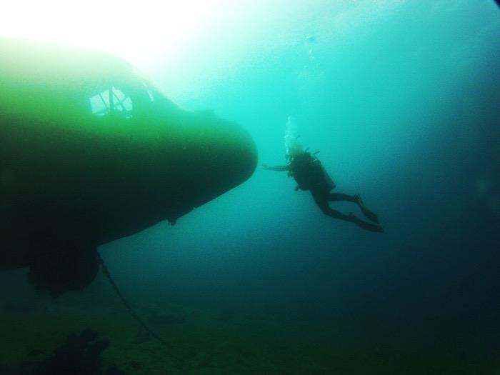 avion scufundat aqaba iordania