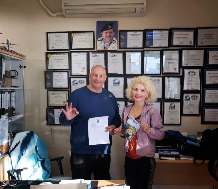 certificat scufundari PADI