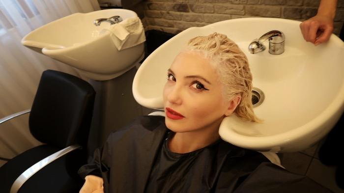 Salon par blond sanatos vopsit