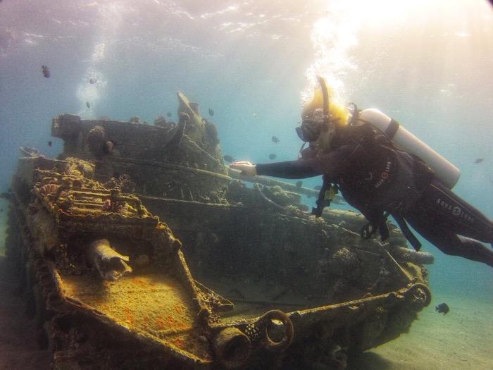 tanc scufundat aqaba iordania 1
