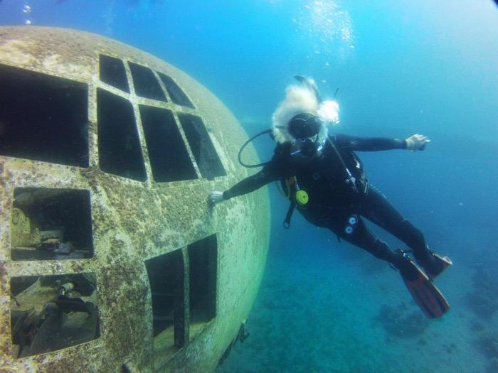 avion scufundat aqaba iordania 3