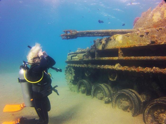 tanc scufundat aqaba iordania 2