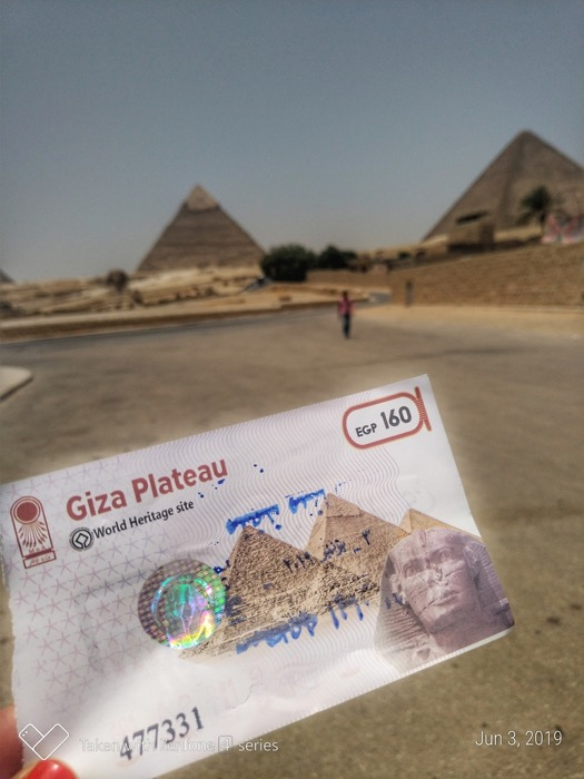bilet intrare piramide 2 5