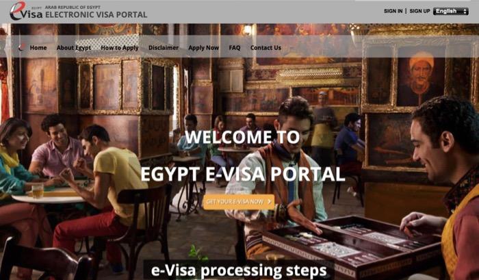 e viza egipt 1