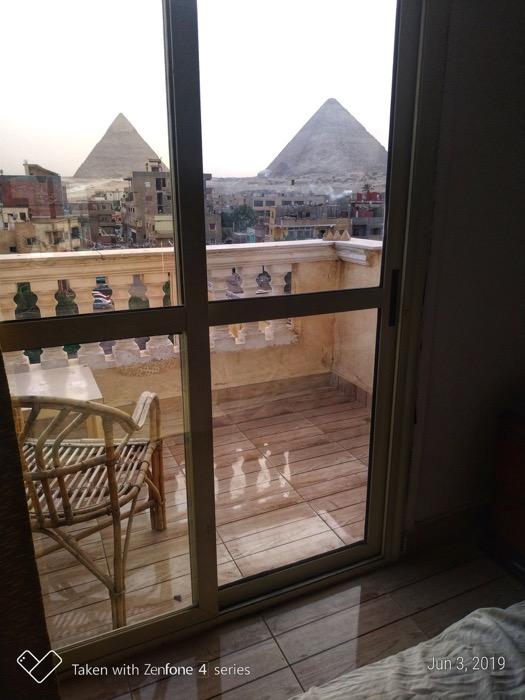 Cazare Giza vedere piramide camere 3