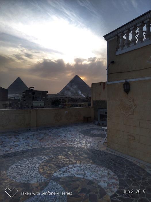 Cazare Giza vedere piramide camere 1
